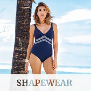 LIDEA NWT One Piece Navy Swimsuit